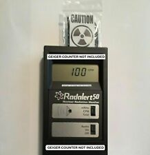 Radioactive mystery material - Geiger Counter Check Radiation Test Source Sample