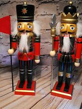 XMAS SOLDIERS TABLE DECORATION CHRISTMAS TABLE DECORATION wooden soldiers xmas