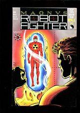 MAGNVS ROBOR FIGHTER 6 (9.4)  NO CARDS VALIANT FLIP BOOK W/RAI 2 (b011)