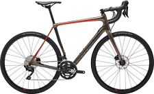 2019 CANNONDALE SYNAPSE CARBON DISK 105 ROAD BIKE, 54CM, GRAY/GRAPHITE/RED