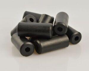 10 Stück Distanzhülse, Abstandshülse aus Gummi, 62mm x 27mm