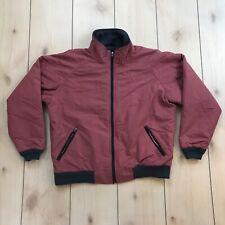 LL Bean Warm Up Jacket Mens Medium Fleece Lined