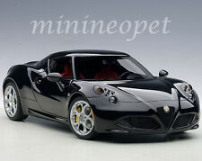 AUTOart 70184 ALFA ROMEO 4C 1/18 MODEL CAR BLACK