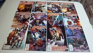 Galaxy of the Guardians #8 - #19 - lot of 12 Marvel Comics 2009 FN
