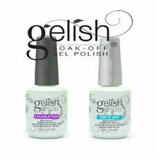 UV Gel ** Gelish ** Top Coat + Base Coat ** Soak-Off UK** Foundation+Top it off