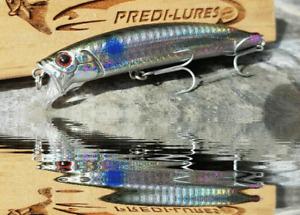 Bass Lure CP105 Mini gasping Sprat Sardine 105mm 18g 0.1-0.5m dive Matt vmc hook