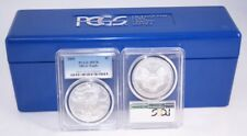 2005 American Silver Eagle 1 oz .999 Fine PCGS MS70 + ONE FREE PCGS Blue Box!!
