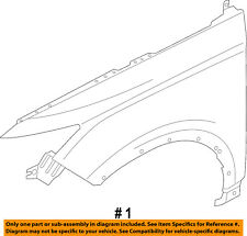 Lincoln FORD OEM 15-16 MKC-Front Fender Quarter Panel Left EJ7Z16006A