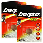 2 x Energizer Lithium CR2032 batteries 3V Coin cell DL2032 Alarms Watch EXP:2023