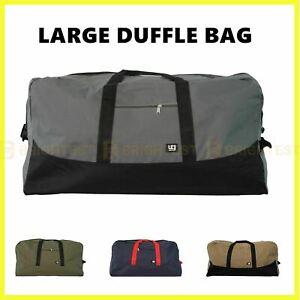 Urban Gear Large Duffle Bag Canvas Duffel Gym Overnight Travel Carry Luggage