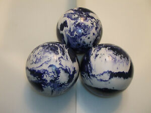 "Duckpin Balls/REFINISHED/Epco Paramount's/3 Ball Set/4 & 7/8""/3lbs 10oz/Perfect"