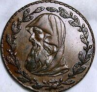 Great Britain  1795  Anglessey Half Penny Token  Britannia reverse  52-692