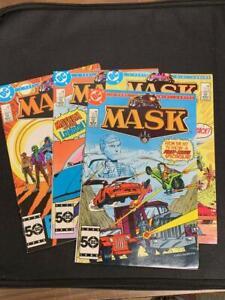 MASK #1-4, DC comics (1985)
