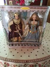 Ken and Barbie Camelot dolls