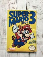 Super Mario Bros 3 Box Only Nintendo Entertainment System NES