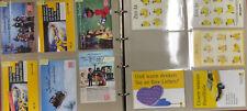 Safe Blätter 1011 und 1012 (insgesamt 16 Blatt) mit über 100 versch. Postcards