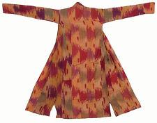Antique Ouzbeks Ikat Femmes Manteau Antique Women's Silk Coat chyrpy no:38