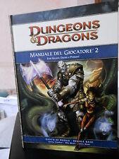 D&D Dungeons & Dragons MANUALE DEL GIOCATORE 2 - Twenty Five Edition