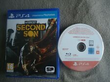 jeu disque PROMO ONLY promotionnel PS4 infamous second son