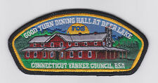 USA BOY SCOUTS OF AMERICA - CONNECTICUT YANKEE COUNCIL FOS SHOULDER PATCH CSP