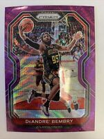 2020-21 Panini Prizm Basketball #11 Deandre' Bembry Purple Wave Prizm