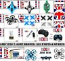 NEW JJRC H36 DRONE QUAD & PARTS & SPARES RC 2.4GHZ 6 AXIS MINI QUADCOPTER HELI