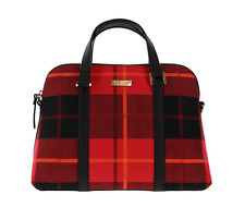 Kate Spade Newbury Lane Plaid Rachelle Convertible Handbag Purse Crossbody Bag
