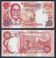 [73241] Botswana 1999 20 Pula Bank Note UNC P21a