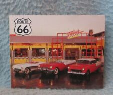 Route 66 Old School Diner Thin Magnet Souvenir Travel Refrigerator