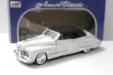 1:18 Anson Cadillac Series 62 Convertible white 1947 NEW bei PREMIUM-MODELCARS