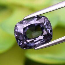 3,29 carat très beau Spinelle Titanium Purple  100% naturel  du Mogok certifié