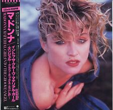 "Madonna - Material Girl, Angel and Into The Groove 12"" JAPAN ONLY EP with OBI"