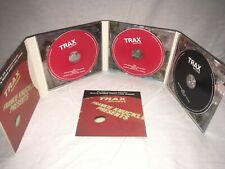 Trax Records 20th Anniversary Collection X3 CD Album Maurice Joshua Paul Johnson