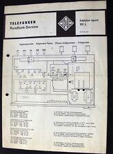 ORIGINALE TELEFUNKEN BAJAZZO SPORT 101 L-schema service manual