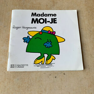 Livre Madame Moi-Je - collection Monsieur Madame - Roger Hargreaves