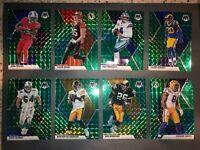 2020 PANINI MOSAIC FOOTBALL CARDS GREEN PRIZM YOU CHOOSE NFL CARD FREE SHIPPING