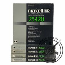 """MAXELL UD 25-120 Reel to Reel Recording Tape  Gen. 7 