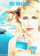 PUBLICITE ADVERTISING 066  2002  Anna Sui  parfum femme  Sui Dreams