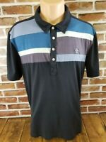 Penguin Munsingwear Heritage Slim Fit Striped Men's Adult S/S Polo Shirt XL Slim