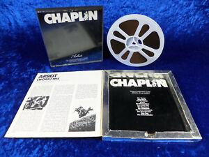 "Super 8 Film: ""Charlie Chaplin Arbeit (WORK)"". Ca. 120 Met. s/w Ton. Gute Kopie."