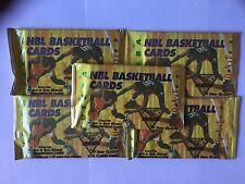 Futera NBL Basketball Card Packs 1994 Series 1  - 5 x Pack Bundle -