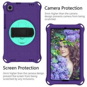 For Huawei MediaPad M3 Lite M5 8.4 Case Shockproof EVA Rotating Hand Strap Cover