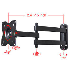 Articulating TV Monitor Wall Mount Bracket for Dell LG 19 22 24 28 29LED LCD CB5