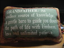 Grandmother definition word Decorative Tapestry  Pillow Made In The USA