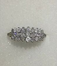 White Gold Ladies Diamond Anniversary Band Size 10 Approx 1 Ct
