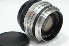 Carl Zeiss Jena Flexon 50mm 1:2 lens, Praktina bayonet camera mount fit, 2/50