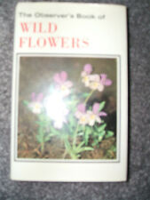 THE OBSERVER'S BOOK OF WILD FLOWERS BY W J STOKOE FREE UK POST