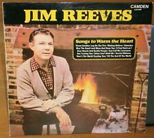 JIM REEVES SONGS TO WARM THE HEART CDS 1099 1972 CAMDEN RECORDS VINYL LP ALBUM