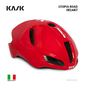 Kask UTOPIA Aero Road Cycling Helmet : RED