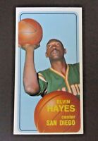 1970 TOPPS ~  ELVIN HAYES BASKETBALL CARD #70 ~ EX/MT ~